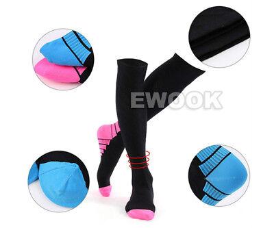 15-30mmHg Medical Compression Socks Support Stockings Travel Flight Socks AU 7