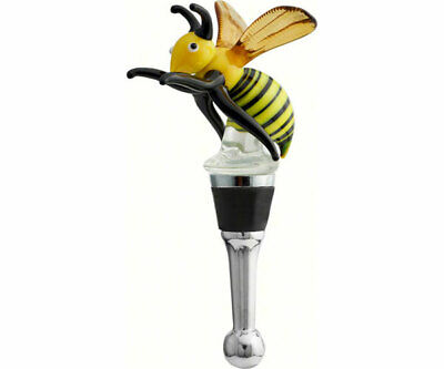 Collectible Blown Glass Creatures Bottle Stopper -  Bee - Bs-399 2