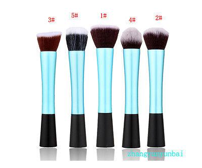 1PC Maquillaje Pincel Cepillo Brocha De Fundación Base Polvo Cosmético Suave 6