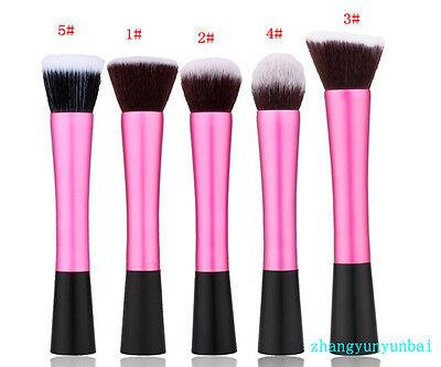 1PC Maquillaje Pincel Cepillo Brocha De Fundación Base Polvo Cosmético Suave 5
