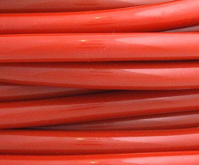 Silikonschlauch, Unterdruckschlauch, Länge=3m ID=3mm, Rot, LLK Vacuum hose