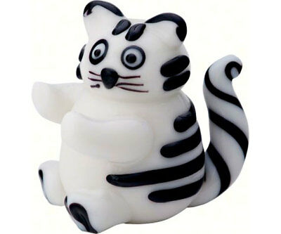 Collectible Blown Glass Creatures And Animals - Cat  - Ma-079 6