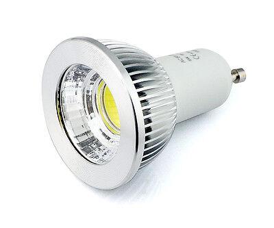 Dimmbar COB LED Scheinwerfer MR16 E27 GU10 5W Licht Bulb 12V 220V Weiß/Warmweiß 3