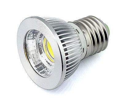 Dimmbar COB LED Scheinwerfer MR16 E27 GU10 5W Licht Bulb 12V 220V Weiß/Warmweiß 5