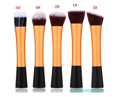 1PC Maquillaje Pincel Cepillo Brocha De Fundación Base Polvo Cosmético Suave 2