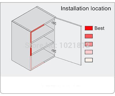 20pcs/lot Gray Kitchen Cabinet Door Drawer Soft Quiet Close Closer Damper 9