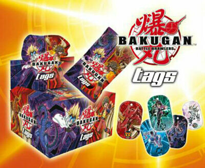 BAKUGAN BATTLE BRAWLERS TAGS TRADING CARD DOG TAGS 3 BOXES=72 PACKS SERIES 1 NEW