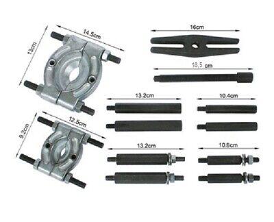 Kit 12 Pz Estrattore Dislocatore Separatore Cuscinetti 50 - 75 Pulegge Valigetta 6
