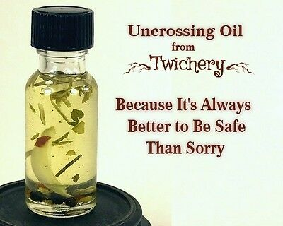 UNCROSSING OIL, Remove Hexes Negativity Hoodoo Palo Santo FREE SHIPPING!! Wicca 4