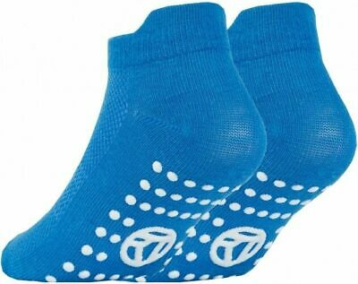 3 Pairs of Kids Boys Girls Grip Gripper Trainer Socks Sports Liners Non Skid 9