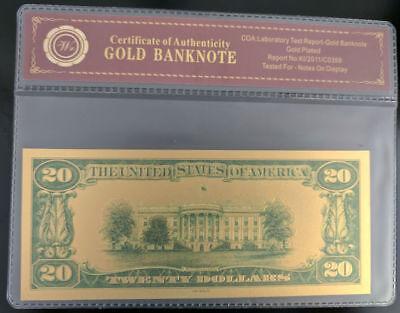 Gold Foil Polymer Collectors Piece  #J