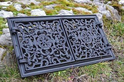 44,5x24,5 Cast iron doors AIR RETURN GRILLES Traditional Vintage Victorian DZ055 3