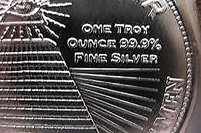 1 oz Silber Silver Silbermünze Silbermedaillie New World Order - Weltordnung 2