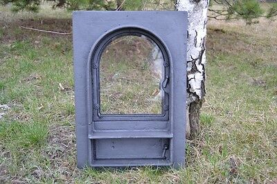 32,5x49cm BIG Cast iron fire door clay / bread oven /pizza stove fireplace DZ022 8