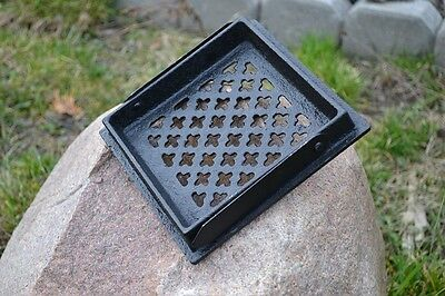 16 x 16cm Cast iron AIR RETURN GRILLES Traditional Vintage Victorian Cover DZ052 5
