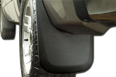 Husky Front /& Rear Mud Guards Black for GM Silverado//Sierra 1500//2500//3500 14-18