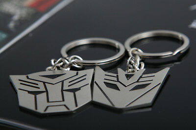 Metal Transformers Autobot & Decepticon Symbol Keychain [ONE PAIR] cosplay 4