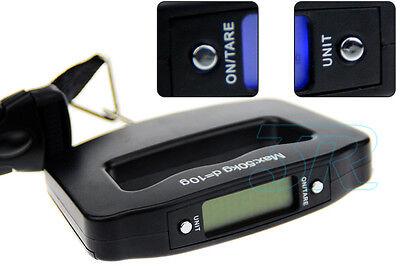 Portable Electronic Digital Luggage Scale Travel 50KG Handheld Suitcase 10G 5