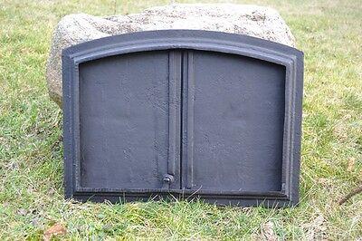 55,5x41cm Cast iron fire door clay / bread oven / pizza stove smoke house DZ017 5