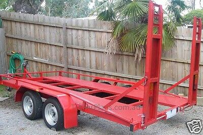 Trailer Plans - 2500KG FLATBED CAR TRAILER PLANS - TANDEM AXLE - PLANS ON CD-ROM 8