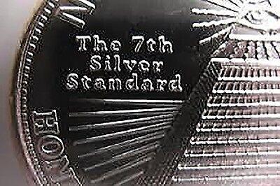 1 oz Silber Silver Silbermünze Silbermedaillie New World Order - Weltordnung 4