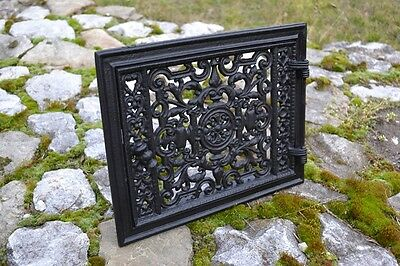 32 x 25,5 Cast iron doors AIR RETURN GRILLES Traditional Vintage Victorian DZ054