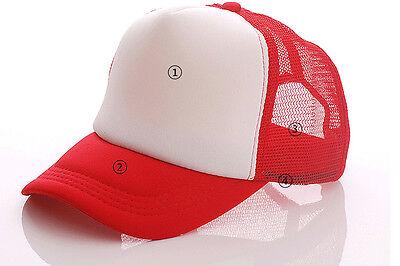 ... Uomo Donna Mesh Snapback Sport Golf Cappello Baseball Stile Camionista  Curvo 9 9e72695df049