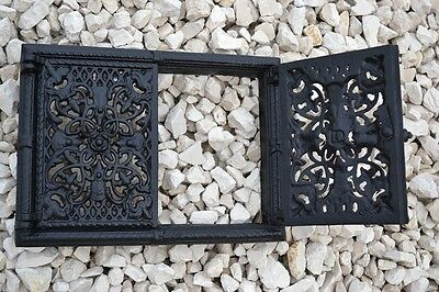 33,5 x 25 Cast iron fire door clay / bread oven / pizza stove smoke house DZ050 4