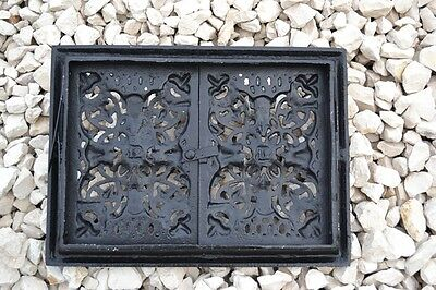 33,5 x 25 Cast iron fire door clay / bread oven / pizza stove smoke house DZ050 6