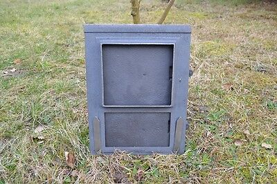 29x39 Cast iron fire door clay /bread oven pizza stove smoke house furnace DZ003 5