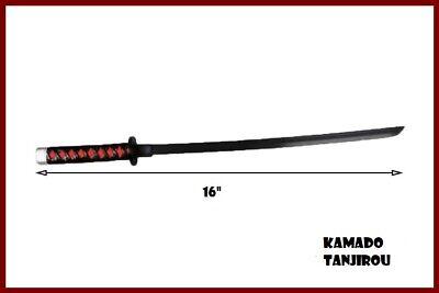 """16/"""" Demon Slayer Kimetsu no Yaiba Giyu Tomioka Nichirin Blades Sword Figure"""