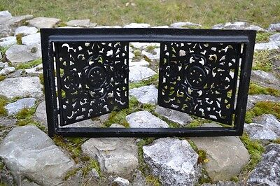 44,5x24,5 Cast iron doors AIR RETURN GRILLES Traditional Vintage Victorian DZ055 6