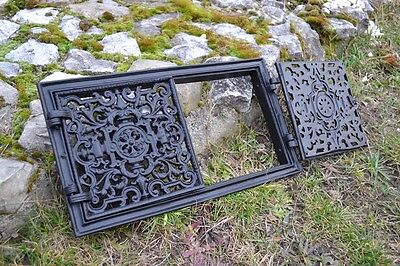 44,5x24,5 Cast iron doors AIR RETURN GRILLES Traditional Vintage Victorian DZ055 4
