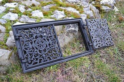 44,5x24,5 Cast iron doors AIR RETURN GRILLES Traditional Vintage Victorian DZ055 4