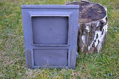 26x35 Cast iron fire door clay /bread oven pizza stove smoke house furnace DZ058 6