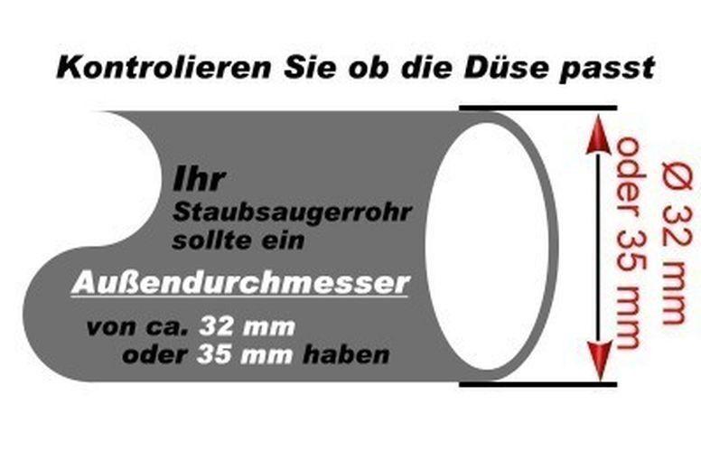 Staubsauger Bodendüse Kombidüse Ersatz für Siemens Z 6.0 VSZ 60000-69999