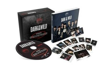 US SHIPPING BTS-[Dark&Wild] Album CD+PhotoBook+PhotoCard DARK and WILD 3