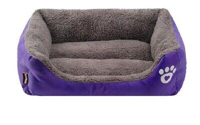 Puppy Cushion Haustierbett Waschbar Zwinger Hundematte Haustier Hund Katze Bett 2