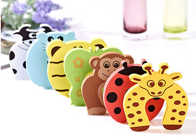 4Pcs Kid Finger Protector Door Stopper Lock Jammers Pinch Guard Babies Safety 11