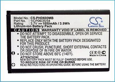 Batterie haute qualité pour withings wbp01-Smart Baay moniteur premium cellule