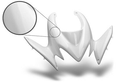 NEW YAMAHA BANSHEE YFZ 350 PLASTIC WHITE STANDARD FRONT FENDER PLASTICS Auto Parts and Vehicles ATV, Side-by-Side & UTV Parts & Accessories