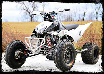 White Shock Covers Honda TRX 250R X Sportrax TRX 300 Fourtrax TRX 400 EX (Set 3)
