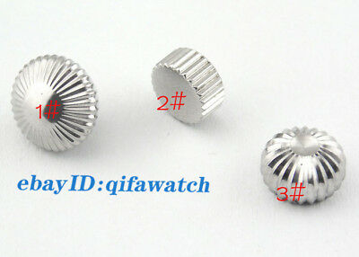 Watch Crown 316L Stainless Steel Fit Seagull ST36 Eta 6497/6498 Mechanical P217 2