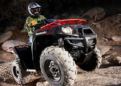 Set of 4 Camo Hunter Shock Covers Kawasaki Racing Brute Force 650 750 4x4 NEW