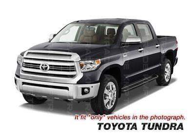 Fits Toyota Tundra Double Cab 07-10 Carbon Fiber Window B-Pillar Door Pillar Pos