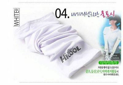 HICOOL Stretch Long Sleeves Cycling Golf Arm UV Protection Sun Covers (1 pair)