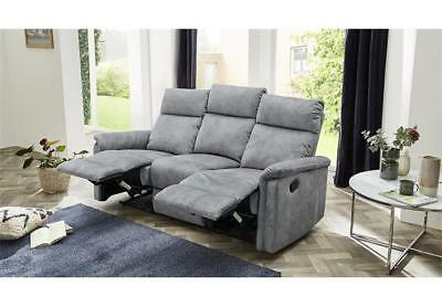 Sofa Amrum Sessel Relaxsessel Polstermöbel 3 Sitzer Mit Funktion