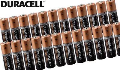 20 X AA Duracell 1.5V Alkaline Batteries LR06 DURALOCK Battery Z1 2