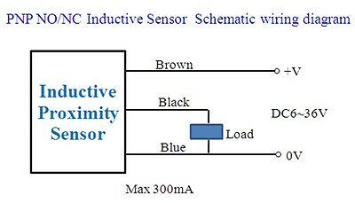 inductive proximity sensor wiring diagram inductive 5pcs nc lj12a3 4 z ay inductive proximity sensor switch pnp dc6v on inductive proximity sensor