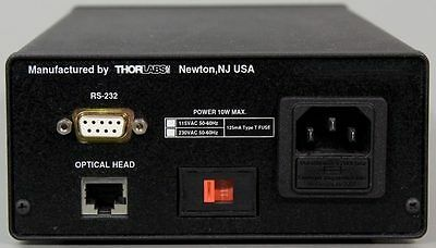 THORLABS WM100 OMEGA Meter Laser Beam Profiler/Beam Waist Analyzer WM 100